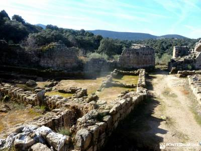 Ciudad de Vascos-Dolmen de Azután;senderismo calzado bota senderismo murcia rutas por asturias